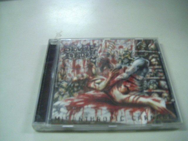 SEVERE TORTURE misanthropic carnage CD 2002 GORE METAL