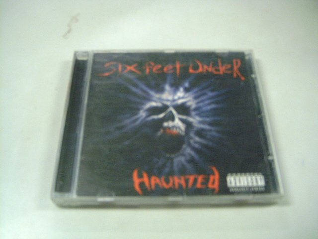 SIX FEET UNDER haunted CD 1995 DEATH METAL