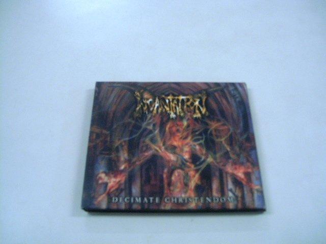 INCANTATION decimate christendon CD + DVD  2000 DEATH METAL