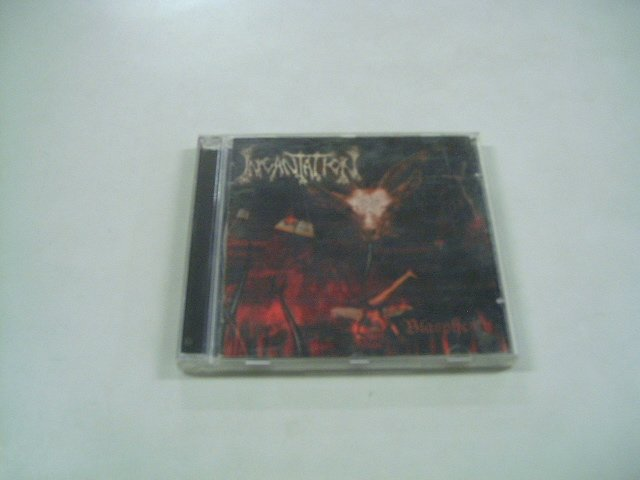INCANTATION blasphemies CD 2001 DEATH METAL