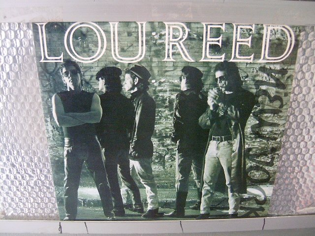 LOU REED new york LP 1989 ROCK MUITO RARO VINIL