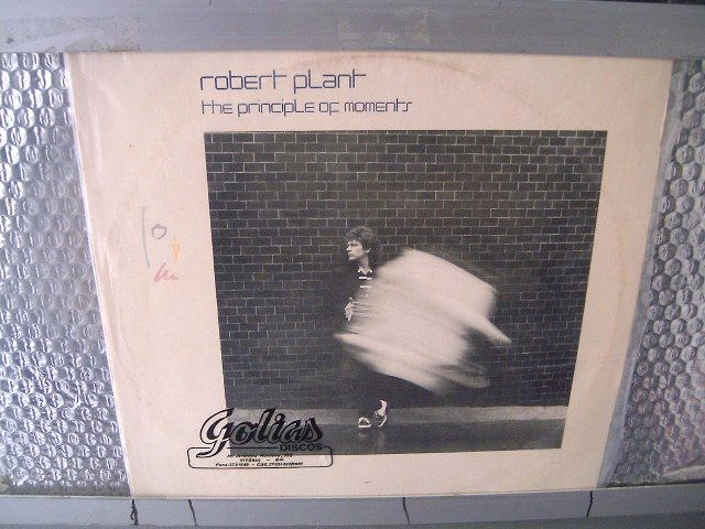 REOBERT PLANT the principle of moments LP 1983 ROCK**