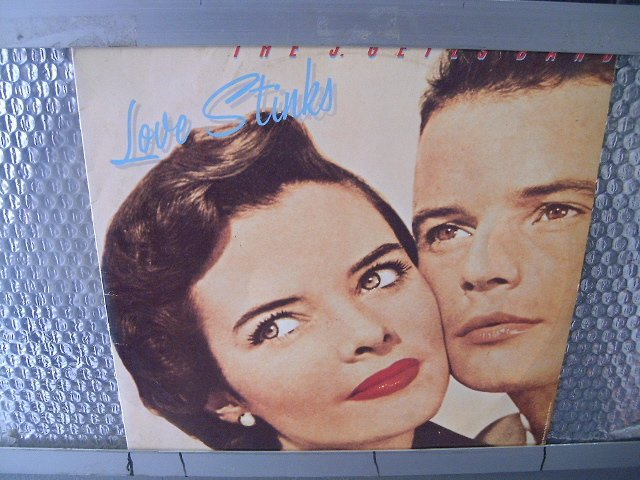 THE J. GEILS BAND love stinks LP 1980 ROCK**