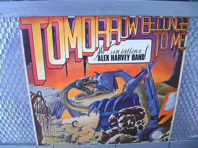 THE SENSATIONAL ALEX HARVEY BAND tomorrow belongs to me LP 1975 ROCK**