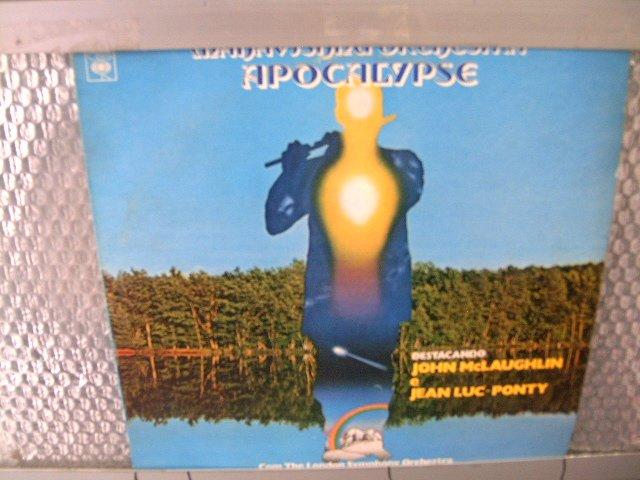 MAHAVISHNU ORCHESTRA apocalypse LP 1974 ROCK MUITO RARO VINIL