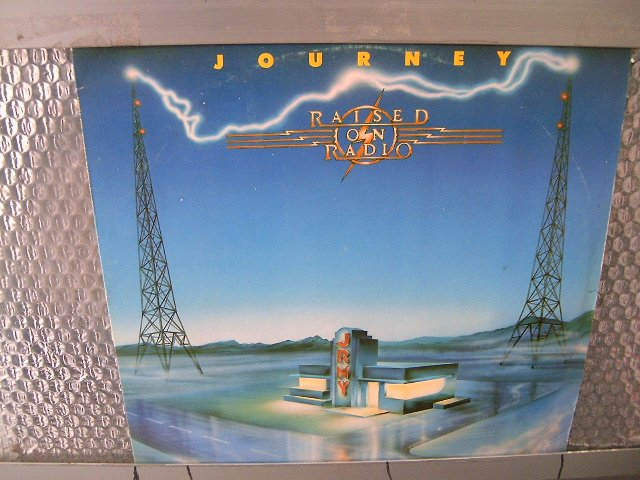 JOURNEY raised on radio LP 1986 AOR MUITO RARO VINIL