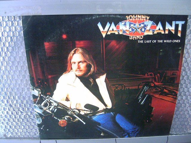 THE JOHNNY VAN ZANT BAND the last of the wild ones LP 1983 ROCK MUITO RARO VINIL