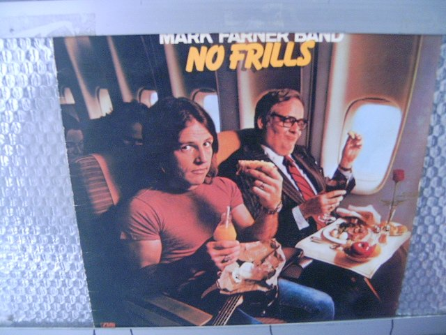 MARK FARNER BAND no frills LP 1978 ROCK**