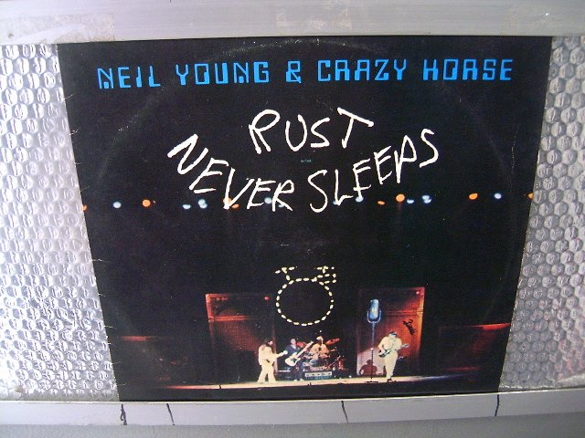NEIL YOUNG & THE CRAZY HORSE rust never sleeps LP 1979 ROCK**