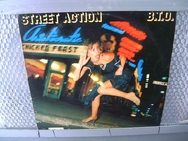 B T O street action LP 1978 ROCK**