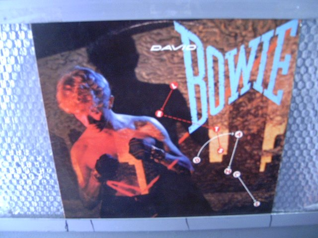 DAVID BOWIE let's dance LP 1983 POP MUITO RARO VINIL
