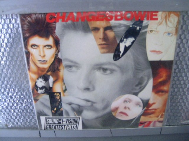DAVID BOWIE changes 2LP 1990 ROCK POP MUITO RARO VINIL