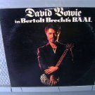 DAVID BOWIE in bertolt brecht's baal LP 1982 ROCK*