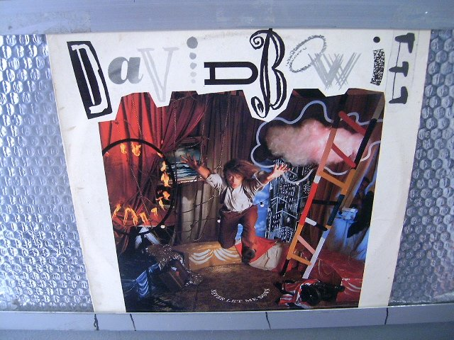 DAVID BOWIE never let me down LP 1987 ROCK**