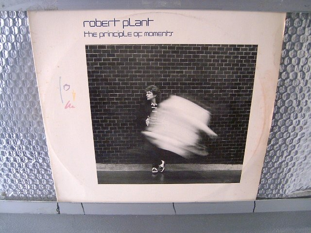 ROBERT PLANT the principle of moments LP 1983 ROCK**