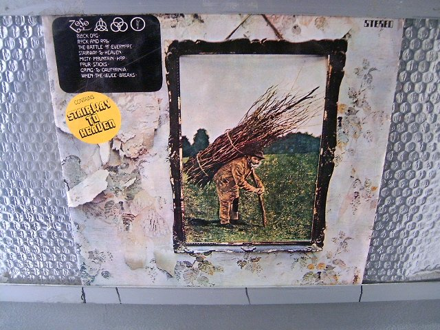 LED ZEPPELIN led zeppelin LP 1977 ROCK MUITO RARO VINIL