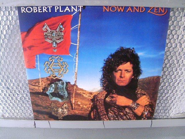 ROBERT PLANT now and zen LP 1988 ROCK**