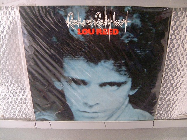 LOU REED rock and roll heart LP 1976 ROCK MUITO RARO VINIL