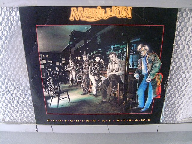 MARILLION clutching at straws LP 1987 PROGRESSIVE ROCK MUITO RARO VINIL