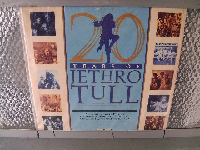 JETHRO TULL years of jethro tull 2LP 1988 ROCK MUITO RARO VINIL