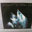 GENESIS seconds out 2LP 1977 PROGRESSIVE ROCK**