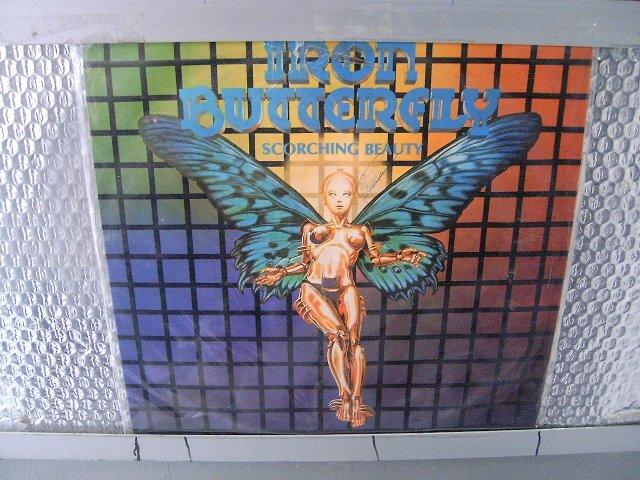 IRON BUTTERFLY scorching beauty LP 1975 ROCK MUITO RARO VINIL
