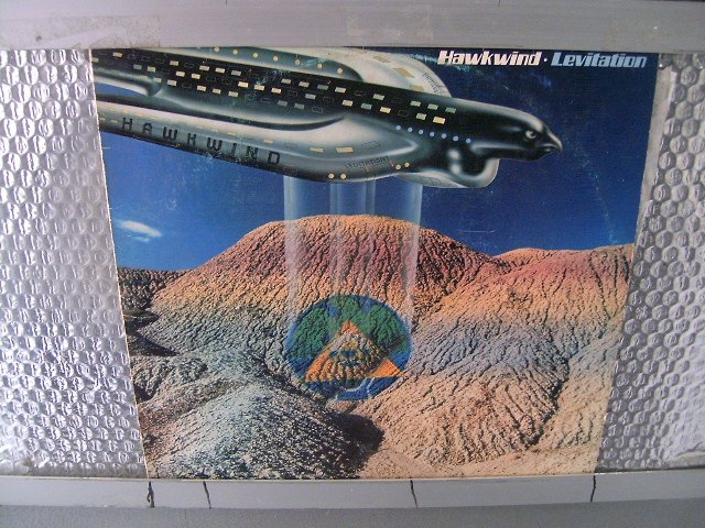 HAWKWIND levitation LP 1981 ROCK MUITO RARO VINIL