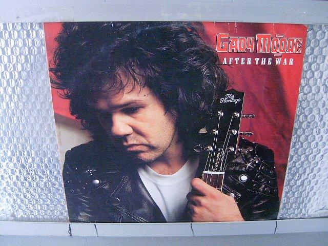 GARY MOORE after the war LP 1989 ROCK MUITO RARO VINIL