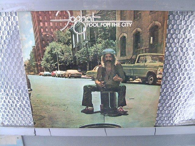 FOGHAT fool fot the city LP 1976 ROCK MUITO RARO VINIL