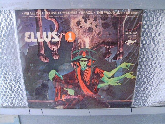 ELLUS ellus sound nr.1LP 1975 ROCK MUITO RARO VINIL