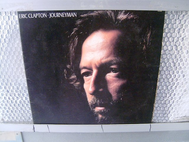 ERIC CLAPTON journey man LP 1990 ROCK**