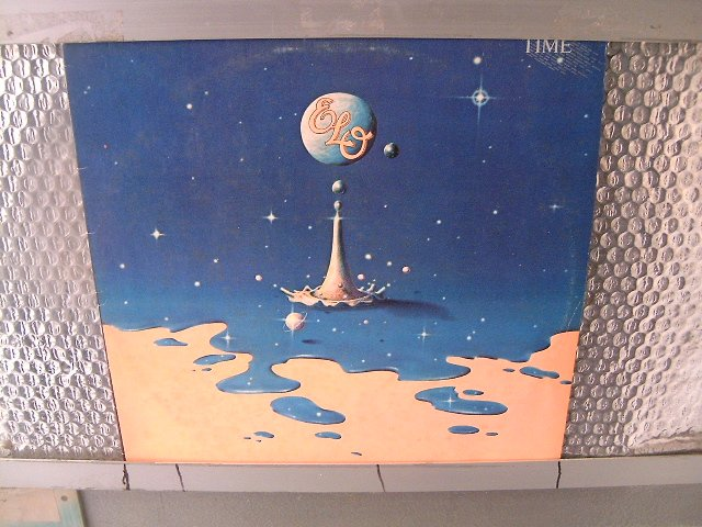 ELO time LP 1981 ROCK**
