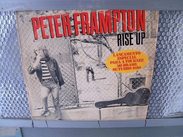 PETER FRAMPTON rise up LP 1980 ROCK MUITO RARO VINIL