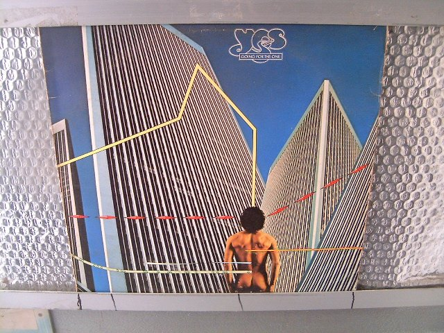 YES going for the one LP 1977 PROGRESSIVE ROCK*