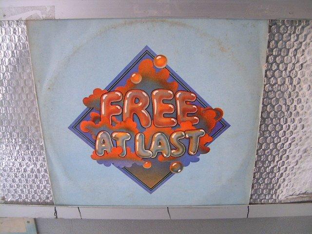 FREE free at last LP 1972 ROCK MUITO RARO VINIL