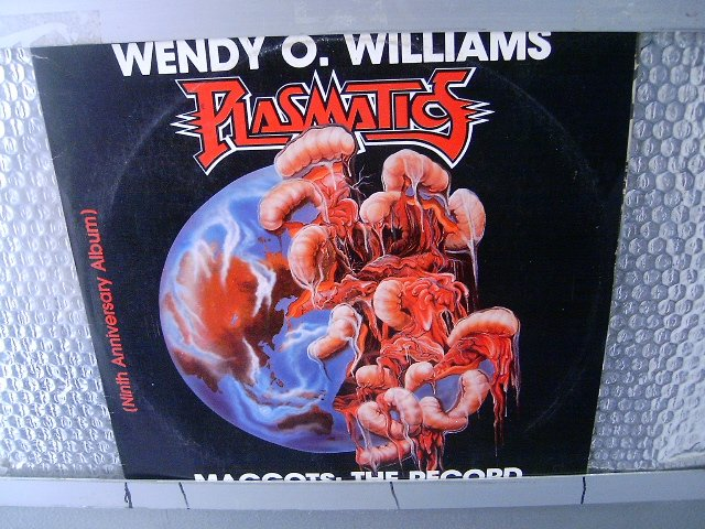 WENDY WILLIAMS / PLASMATICS  maggots the record LP 19? CROSSOVER