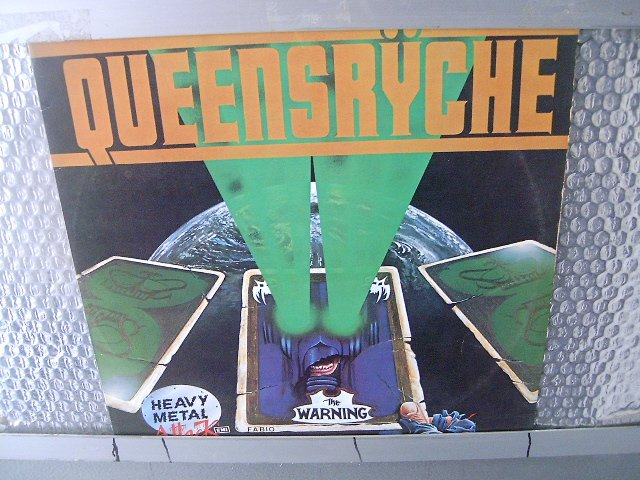 QUEENSRYCHE the warning LP 1984 HEAVY METAL MUITO RARO VINIL