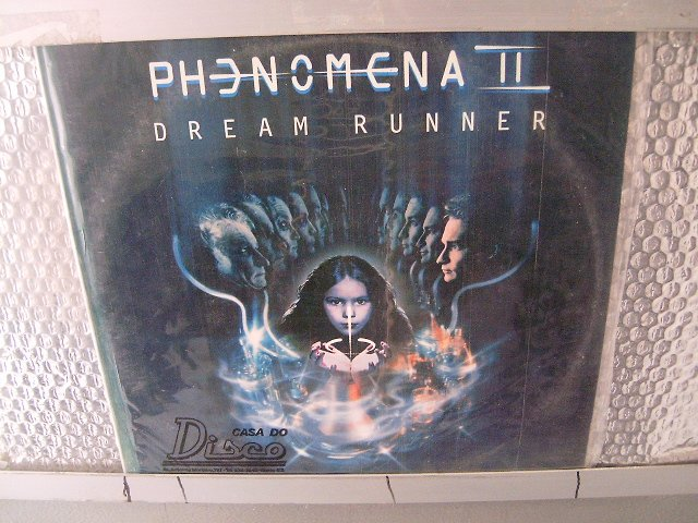 PHENOMENA 2 dream runner LP 1988 HARD ROCK MUITO RARO VINIL