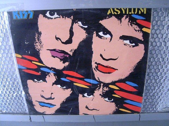 KISS asylum LP 1985 HARD ROCK MUITO RARO VINIL