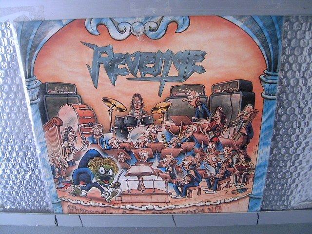 REVENGE rhapsody from brontoland LP 1990 HEAVY METAL MUITO RARO VINIL
