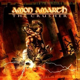 AMON AMARTH the crusher CD 2001 VIKING DEATH METAL