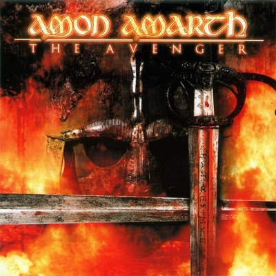AMON AMARTH the avenger CD 1999 VIKING DEATH METAL