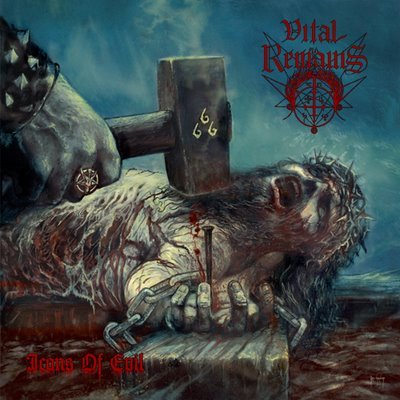 VITAL REMAINS icons of evil CD 2007 DEATH METAL