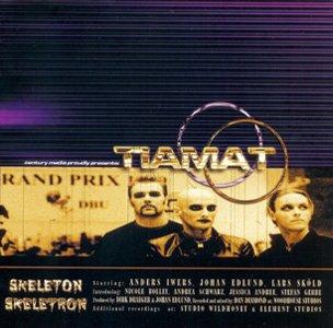 TIAMAT skeleton skeletron CD 1999 GOTHIC ROCK
