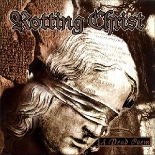 ROTTING CHRIST a dead poem CD 1997 DARK METAL