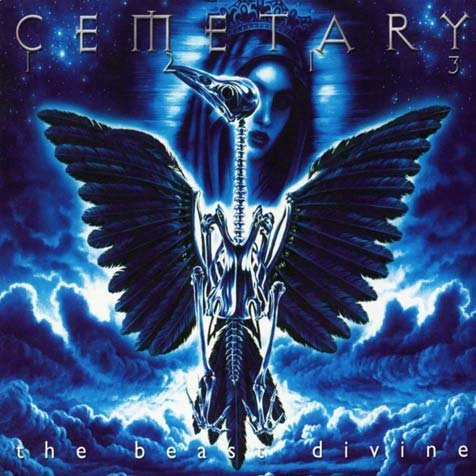 CEMETARY the beast divine CD 2000 DOOM GOTHIC ROCK
