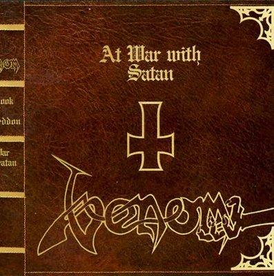 VENOM at war with satan CD 2006 BLACK METAL