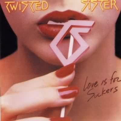 TWISTED SISTER love is for suckers CD 1987 HARD ROCK