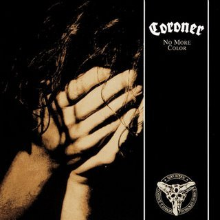 CORONER no more colour CD 1989 THRASH METAL