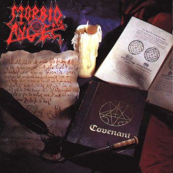 MORBID ANGEL covenant CD 1993 DEATH METAL